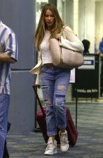 SOFIA VERGARA Arrives at Airport in Miami 11/19/2015