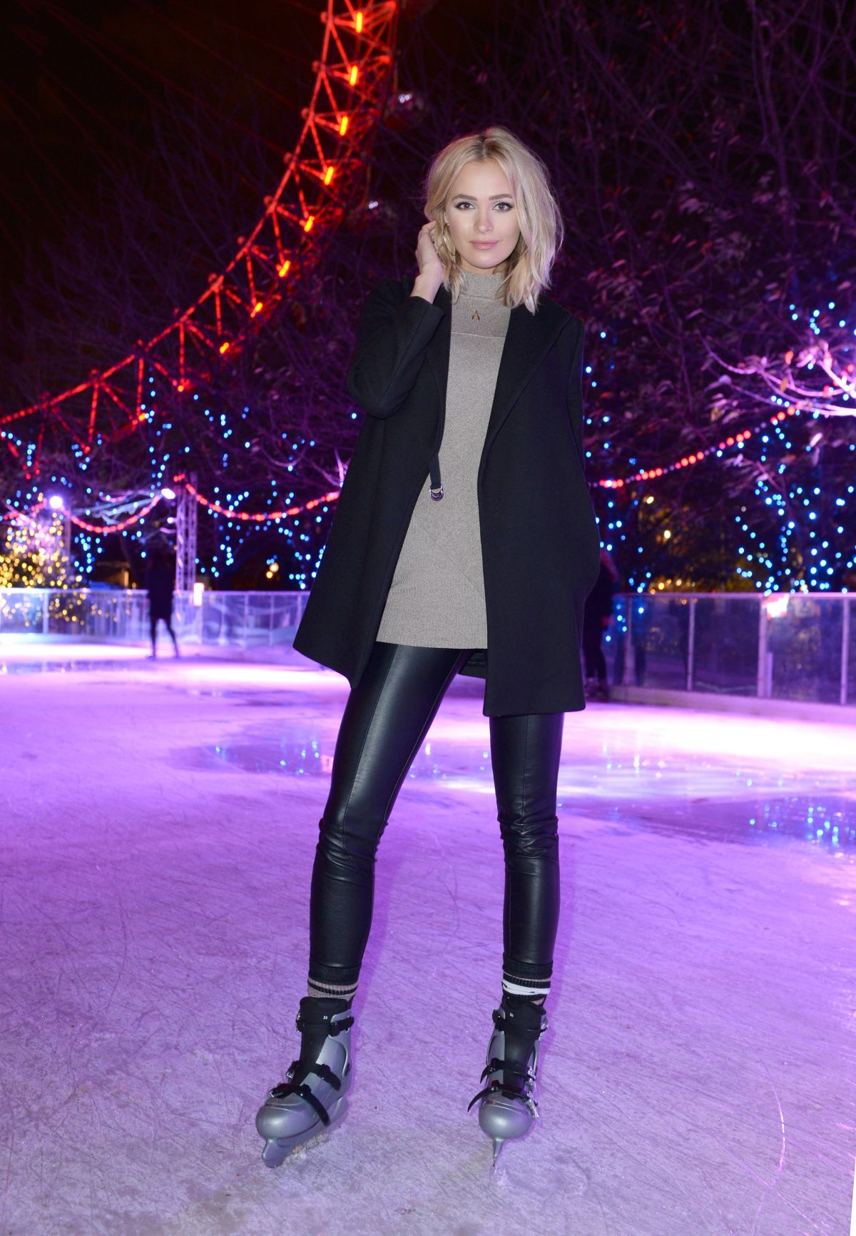 IANTHE ROSE COCHRANE at Coca Cola London Eye Frostival Eyeskate in London 11/18/2015