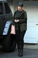 IGGY AZALEA Leaves a Dermatologist Office in Beverly Hills 11/20/2015