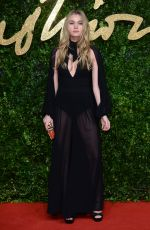 IMOGEN WATERHOUSE at 2015 British Fashion Awards in London 11/23/2015