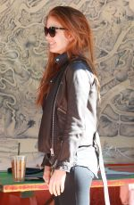 ISLA FISHER at Canyon Country Store in Los Angeles 11/05/2015