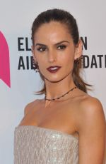 IZABEL GOULART at Elton John Aids Foundation's 14th Annual An Enduring Vision Benefit in New York 11/02/2015