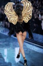 IZABEL GOULART at Victoria's Secret 2015 Fashion Show in New York 11/10/2015