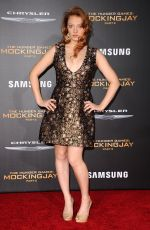 JACQUELINE EMERSON at The Hunger Games: Mockingjay, Part 2 Premiere in Los Angeles 11/16/2015