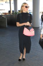 JAIME KING Arrives at LAX Airport in Los Angeles 10/30/2015