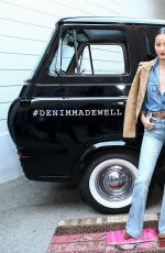JAMIE CHUNG at Madewell Denim Recycling Drive in Beverly Hills 11/06/2015