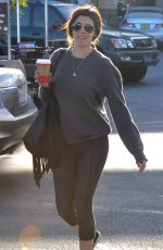 JAMIE-LYNN SIGLER Shopping at The Pavilion in Beverly Hills 11/27/2015