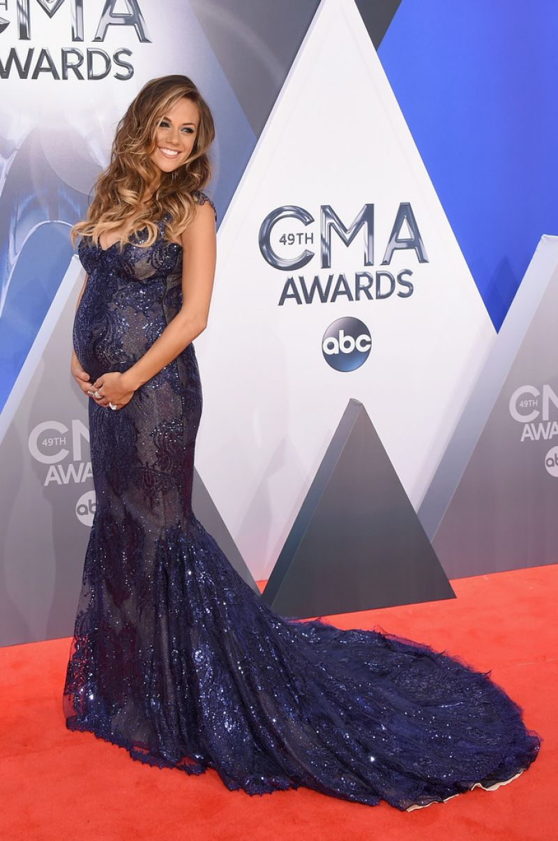 JANA KRAMER at 49th Annual CMA Awards in Nashville 11/04/2015