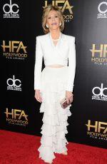 JANE FONDA at 2015 Hollywood Film Awards in Beverly Hills 11/01/2015