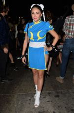 JANEL PARRISH at Just Jared Halloween Party in Hollywood 10/31/2015
