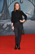 JANINA STOPPER at Bridge of Spies Premiere at Zoo Palast in Berlin 11/13/2015