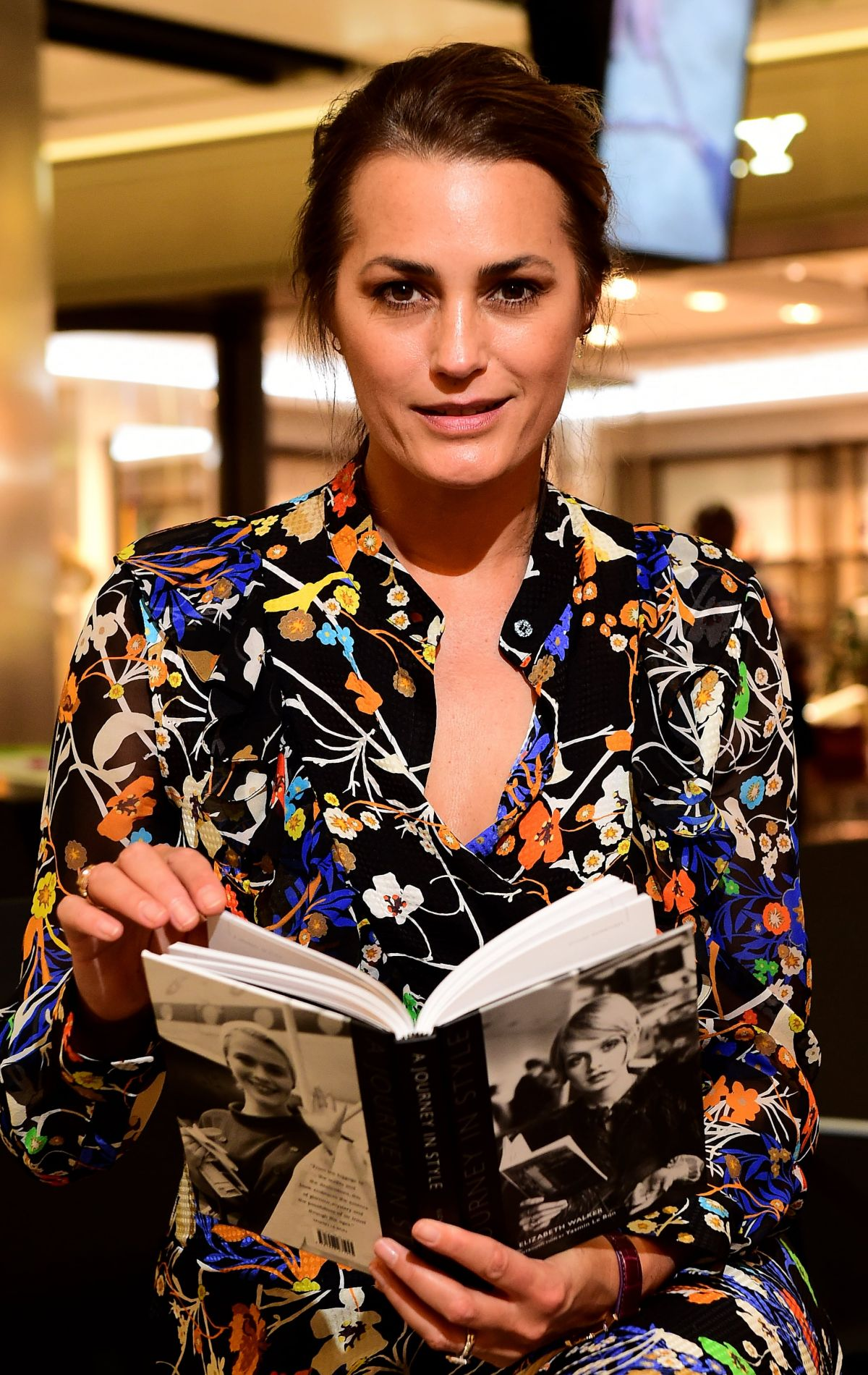 JASMIN LE BON at A Journey in Style Book Launch at Heathrow Airport in London 10/26/2015