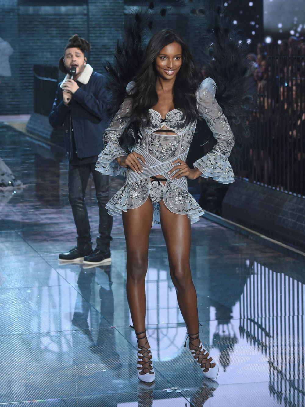 JASMINE TOOKES at Victoria's Secret 2015 Fashion Show in New York 11/10/2015