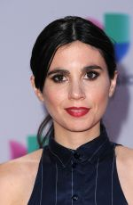JAVIERA MENA at 2015 Latin Grammy Awards in Las Vegas 11/18/2015