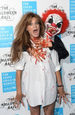 JEMIMA GOLDSMITH at 2015 Unicef Halloween Ball at One Mayfair in London 10/29/2015