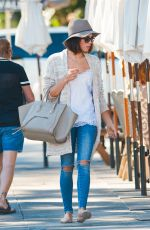 JENNA DEWAN Out and About in Los Angeles 11/10/2015