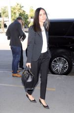 JENNIFER CONNELLY at LAX Airport in Los Angeles 11/08/2015