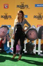 JENNIFER FREEMAN at The Peanuts Movie Premiere in Westwood 11/01/2015