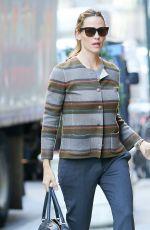 JENNIFER GARNER Heading to a Meeting in New York 11/17/2015