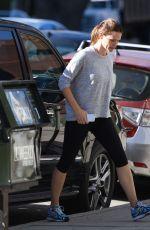 JENNIFER GARNER in Leggings Out in Brentwood 11/14/2015