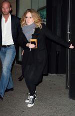 JENNIFER LAWRENCE, ADELE and EMMA STONE Leaves Cosme Restaurant in New York 11/23/2015