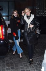 JENNIFER LAWRENCE, ADELE and EMMA STONE Leaves Cosme Restaurant in New York 11/23/2015
