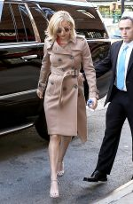 JENNIFER LAWRENCE Arrives at Her Hotel in New York 11/18/2015