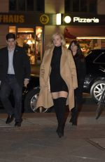 JENNIFER LAWRENCE Arrives at Royal Grill Restaurant in Berlin 11/01/2015