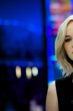 JENNIFER LAWRENCE at El Hormiguero TV Show in Madrid 11/26/2015