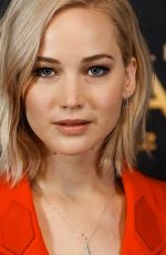 JENNIFER LAWRENCE at The Hunger Games: Mockingjay, Part 2 Photocall in Madrid 11/10/2015