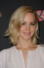 JENNIFER LAWRENCE at The Hunger Games: Mockingjay, Part 2 Photocall in Paris 11/09/2015