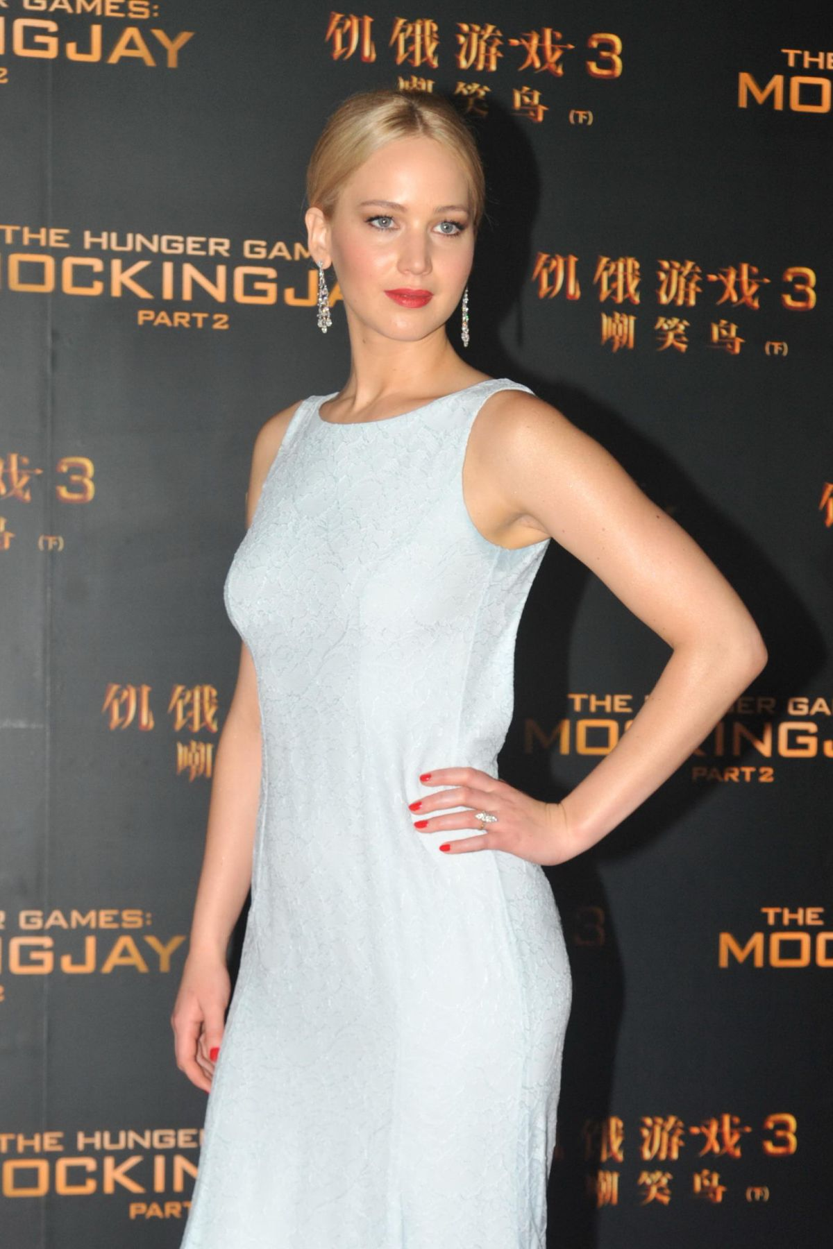 JENNIFER LAWRENCE at The Hunger Games: Mockingjay, Part 2 Premiere in Beijing 11/12/2015