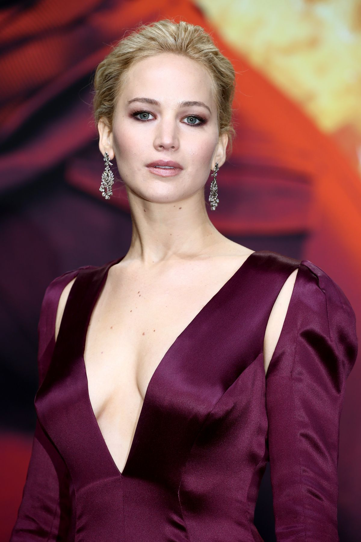 JENNIFER LAWRENCE at The Hunger Games: Mockingjay, Part 2 ... Jennifer Lawrence