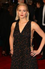 JENNIFER LAWRENCE at The Hunger Games: Mockingjay, Part 2 Premiere in London 11/05/2015