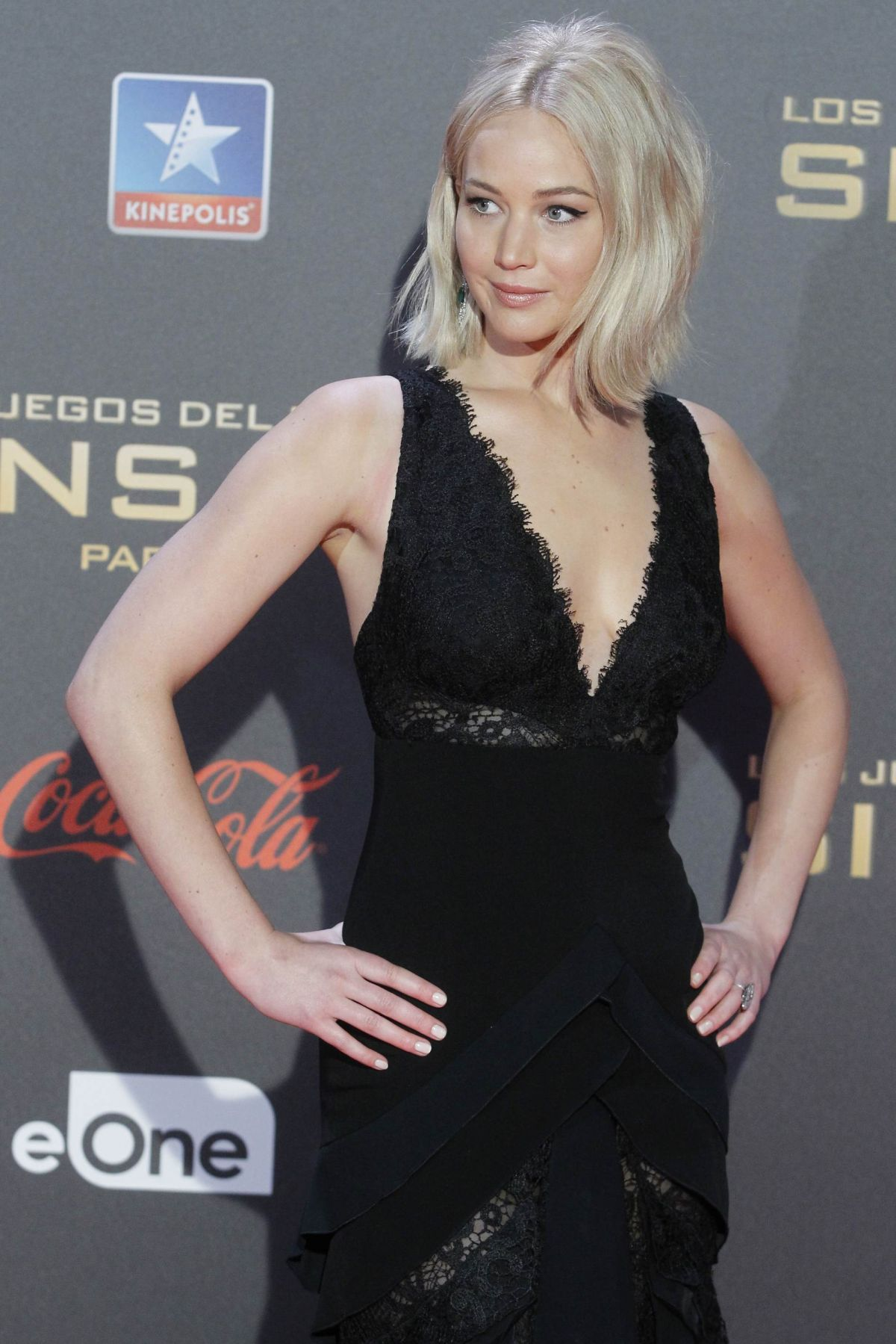 JENNIFER LAWRENCE at The Hunger Games: Mockingjay, Part 2 Premiere in Madrid 11/10/2015