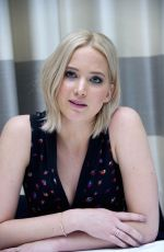 JENNIFER LAWRENCE at The Hunger Games: Mockingjay, Part 2 Press Conference in Berlin 11/03/2015
