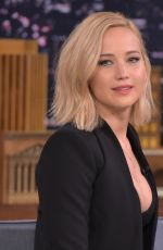 JENNIFER LAWRENCE at The Tonight Show Starring Jimmy Fallon in New York 11/18/2015