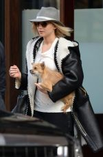JENNIFER LAWRENCE Leaves Greenwich Hotel in New York 11/29/2015