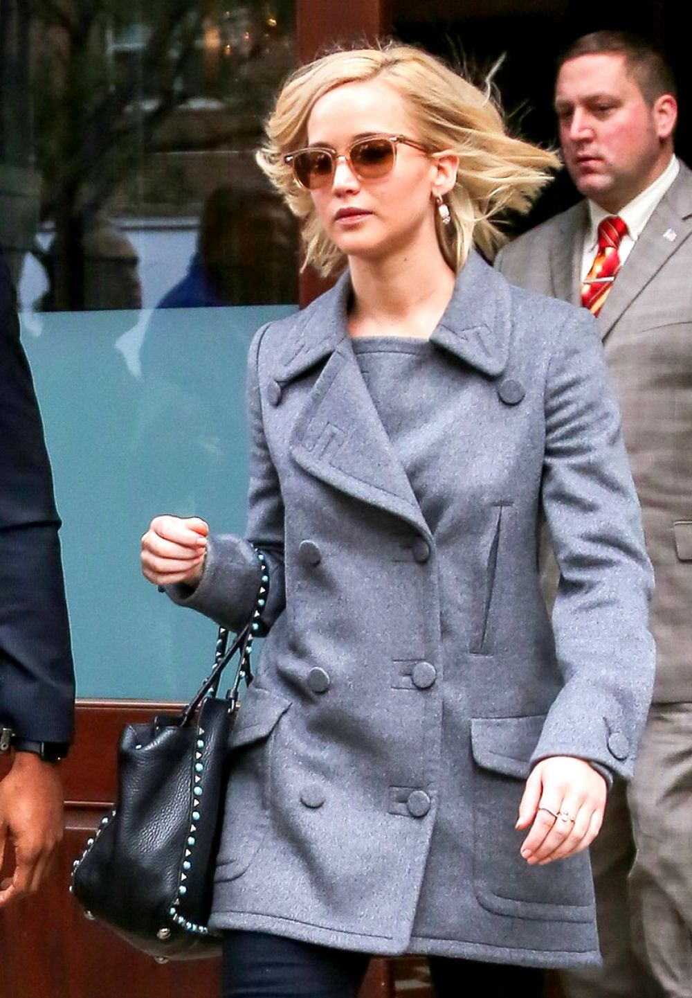 JENNIFER LAWRENCE Leaves Her Hotel in New York 11/18/2015