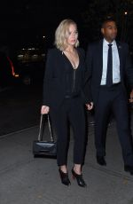 JENNIFER LAWRENCE Out for Dinner in New York 11/18/2015