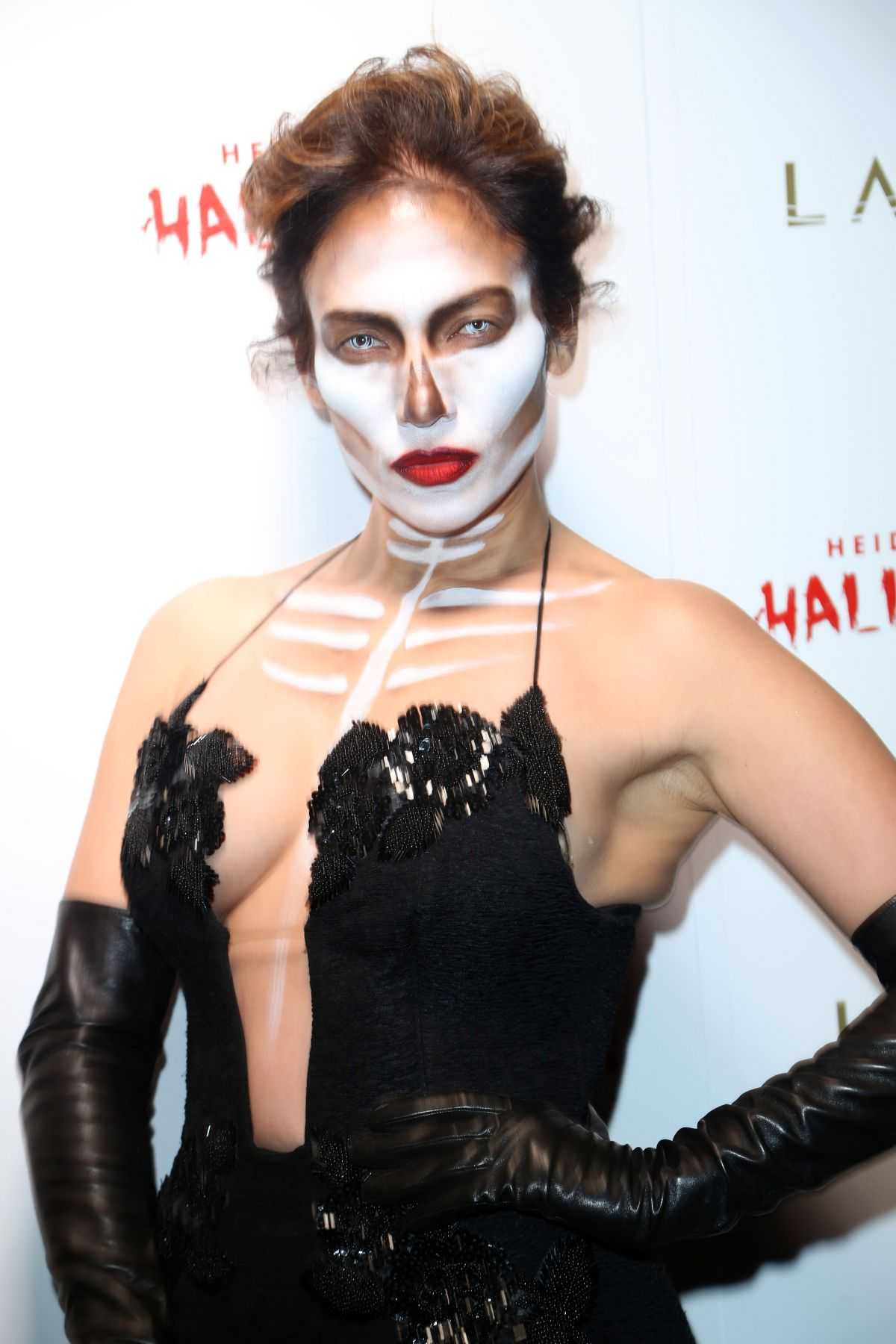 JENNIFER LOPEZ at Heidi Klum Halloween Party in New York 10/31/2015 ...