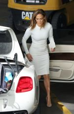 JENNIFER LOPEZ on the Set of American Idol in Studio City 11/20/2015