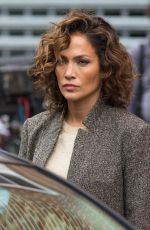 JENNIFER LOPEZ on the Set of Shades of Blue in New York 11/02/2015