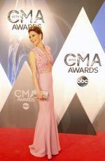 JENNIFER NETTLES at 49th Annual CMA Awards in Nashville 11/04/2015