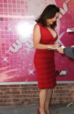 JENNIFER TILLY Leaves Wendy Williams Show in New York 11/25/2015
