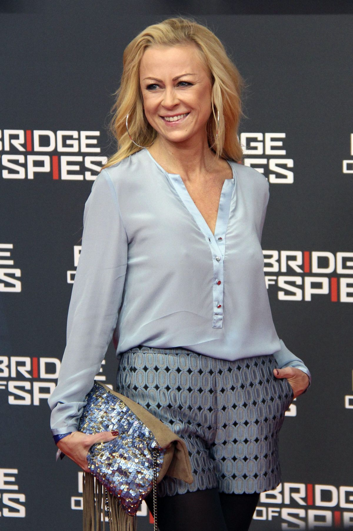 JENNY ELVERS-ELBERTZHAGEN at Bridge of Spies Premiere at Zoo Palast in Berlin 11/13/2015
