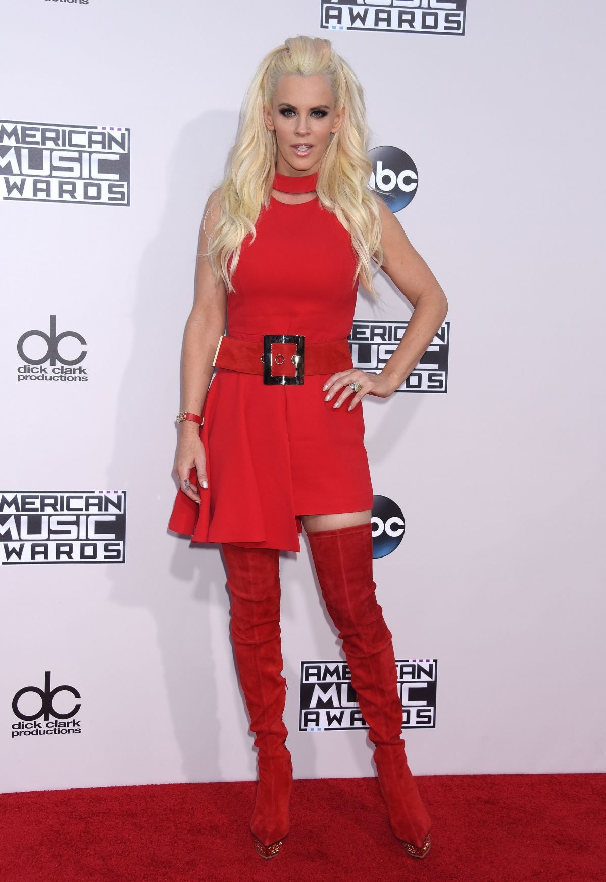JENNY MCCARTHY at 2015 American Music Awards in Los Angeles 11/22/2015