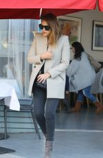 JESSICA ALBA Leaves a Birthday Party at Petrossian in West Hollywood 11/29/2015