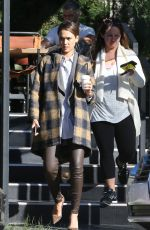 JESSICA ALBA Out for a Coffee in Los Angeles 11/05/2015