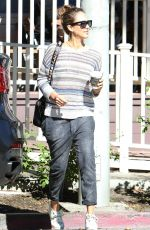 JESSICA ALBA Out for Shopping in Los Angeles 11/07/2015